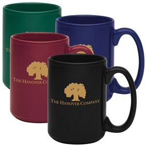 15 Oz. Jumbo Colored Mug