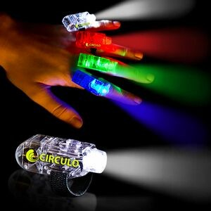 "1 1/2"" Multi-Color Light Up Finger Lights"