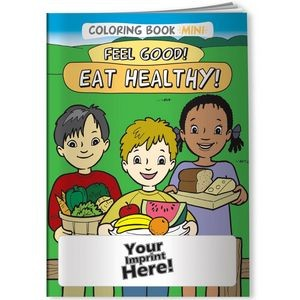 Coloring Book Mini - Feel Good! Eat Healthy!