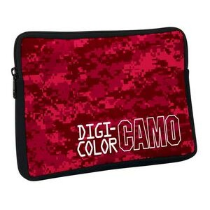 "DigiColor Camo Netbook Laptop Sleeve - 4 Color Process (10 1/4""x7""x1.1"")"